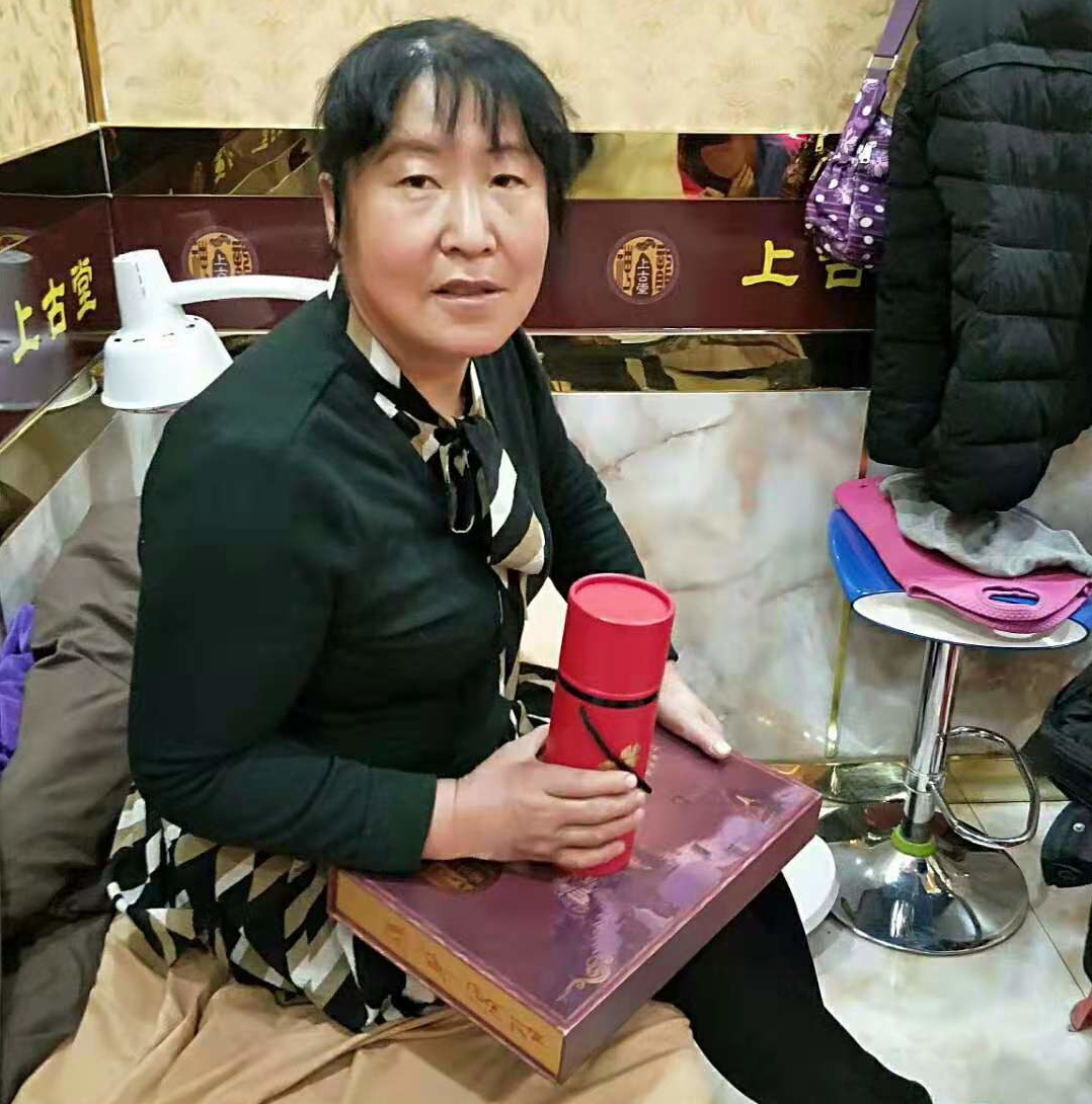 三位女士在上古堂新疆加盟店调理经历